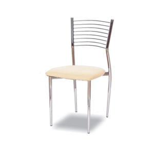 TEMPO KONDELA Jedálenská stolička, béžová,  ZAIRA