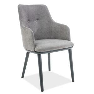 Signal Jedálenská stolička Flip Farba: Sivá