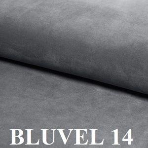 Signal Pohovka Asprey Velvet 2 Farba: Sivá