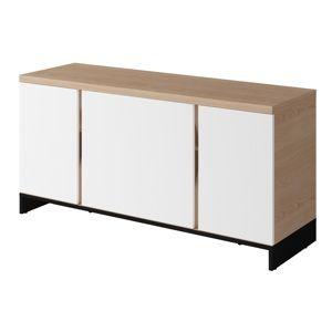 Dig-net nábytok  TV stolík SI-10 Prevedenie: Verzia II - hladké dvierka