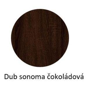 ArtExt Kuchynská skrinka horná WEP/60 Ferrum Farba korpusu: Sonoma čokoládová