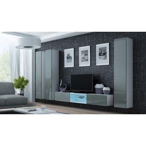 Artcam Obývacia stena Vigo 18 biela/sivá