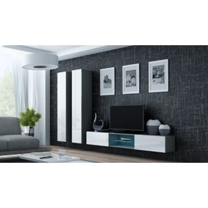 Artcam Obývacia stena Vigo 19 sivá-biela