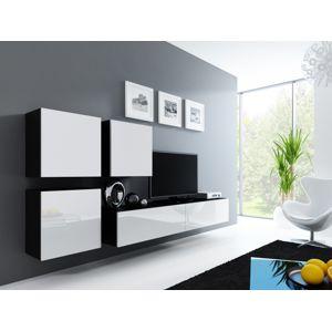Artcam Obývacia stena Vigo 23 čierna/biela