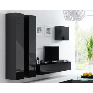 Artcam Obývacia stena Vigo 25 čierna