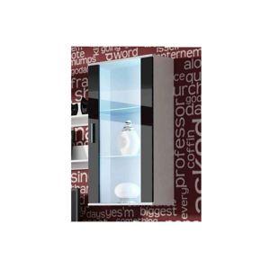 Artcam Visiaca vitrína SOHO S2 Farba: biela/čierny lesk