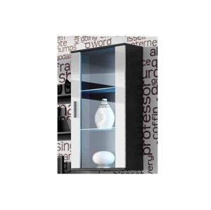 Artcam Visiaca vitrína SOHO S2 Farba: čierna/biely lesk
