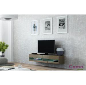 Artcam RTV stolík VIGO NEW 140 cm latté/latté lesk