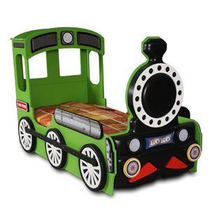 Artplast Detská posteľ Lokomotíva Farba: Zelená