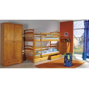 Dolmar  Detská poschodová posteľ Irek