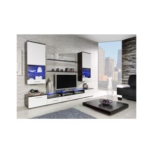 Artcam Obývacia stena CAMA II Farba: wenge/biela