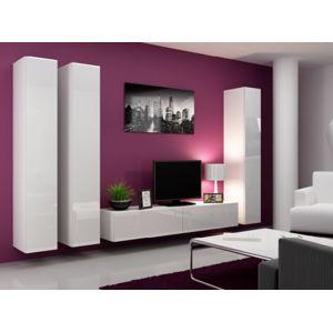 Artcam Obývacia stena Vigo I Farba: Biela/biely lesk