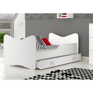 ArtAJ Detská obrázková posteľ Kevin 180 x 80 farba postele: biela 180 x 80 cm