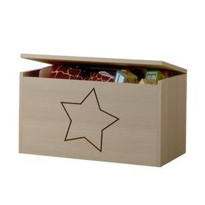 ArtBoo Truhlica na hračky s hviezdou BOO: Bezfarebný