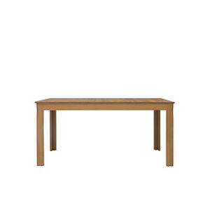 BRW Jedálenský stôl: BERGEN - STO/160 Farba: smrekovec sibiu zlatý