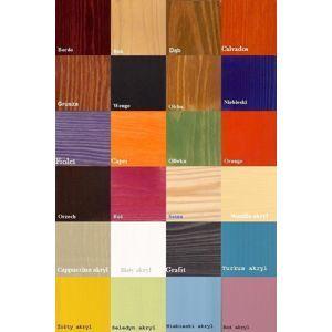 ArtBed Spálňa Levanzo Farba: morenie