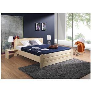 ArtBed Manželská posteľ Bazyl Farba: Morenie - Akryl, Rozmer postele: 200 x 200