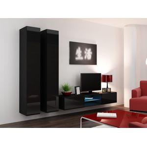 Artcam Obývacia stena Vigo 19 Farba: Čierna/čierny lesk