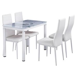 Signal Jedálenský stôl DAMAR Farba: Biela
