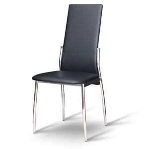 Tempo Kondela Jedálenská stolička Solana Farba: Čierna