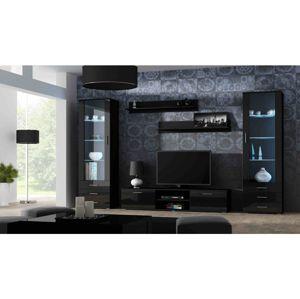 Artcam Obývacia stena Soho 4 Farba: Čierna/čierny lesk