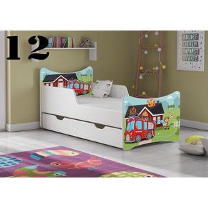 Detská posteľ SMB - chlapci Prevedenie: Obrázok č.12