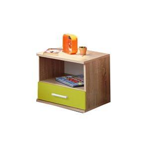 Tempo Kondela Nočný stolík EMIO 05 Farba: Zelená