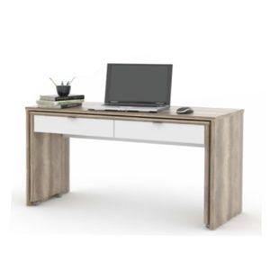 Tempo Kondela PC stôl VERSAL dub canyon / biela