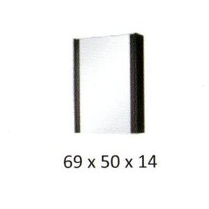ArtCom Kúpeľňová zostava NEW YORK New York: Zrkadlová skrinka New York 1D / (ŠxVxH) 50 x 69 x  14 cm
