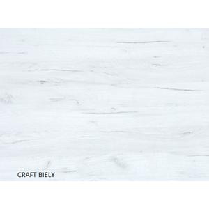 WIP Rohová šatníková skriňa NEMO Farba: craft biely