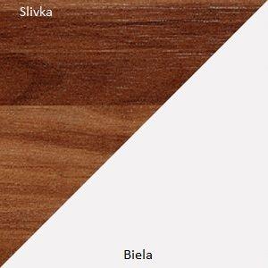WIP Konferenčný stolík ALFA Farba: Slivka / biely