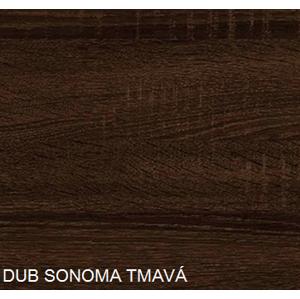 WIP Konferenčný stolík EMMA Farba: Dub sonoma tmavá - skladová zásoba 1 ks