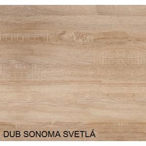 WIP PC stolík VARIO Farba: Dub sonoma - skladová zásoba 1 ks
