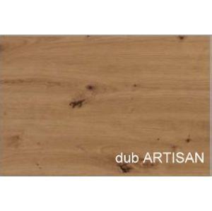 WIP PC stolík COMBI Farba: Dub artisan