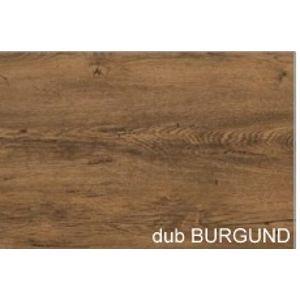WIP Botník ARES 3/1 Farba: dub burgund