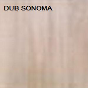 ArtMadex Šatníková skriňa PENELOPA 205 / MOTÝĽ 2 Farba: dub sonoma