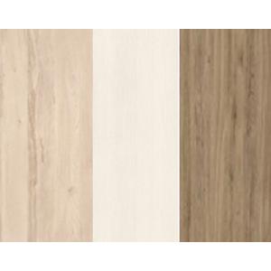 MLnábytok Regál BEST 05 / breza / biela LINEA Farba: breza/biela/dub divoký
