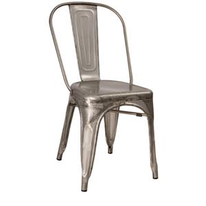 Signal Jedálenská stolička LOFT / dierkovaná oceľ