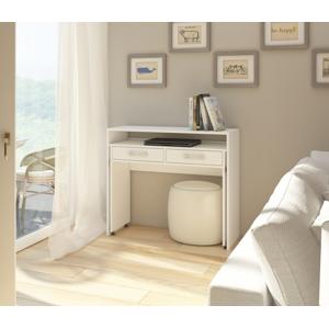 WIP PC stolík Zoom matný Farba: Biela