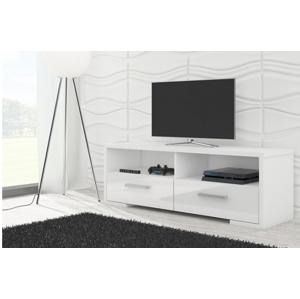 WIP TV STOLÍK ROMA LESK Farba: biely lesk / biela