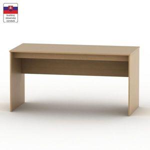 Písací stôl, buk, TEMPO ASISTENT NEW 020 PI
