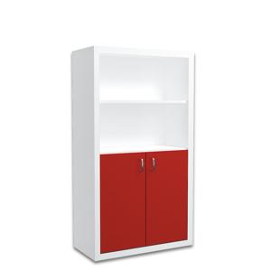 ArtAJ Regál FILIP veľký / COLOR Farba: biela / červená