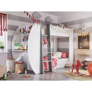 Dig-net nábytok  Detská poschodová posteľ JERRY JE-01