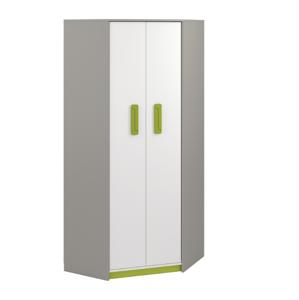 MLnábytok Šatníková skriňa IQ 01 Farba: Zelená