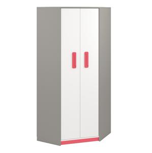MLnábytok Šatníková skriňa IQ 01 Farba: malinová