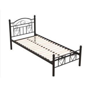 Tempo Kondela Kovová posteľ Brita 90 x 200 Farba: Čierna