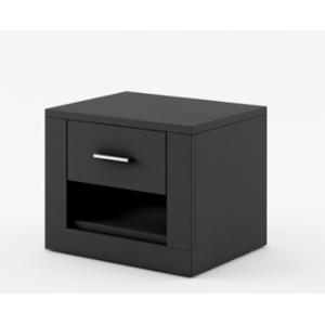 Dig-net nábytok  Nočný stolík Arti AR-07 Farba: Čierna