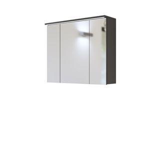 ArtCom Kúpelňová zostava Galaxy sivá Galaxy: skrinka so zrkadlom 844 - (68 x 80 x 20 cm)