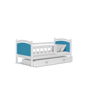 ArtAJ Detská posteľ Tami P / color Farba: biela / modrá, Prevedenie: bez matraca