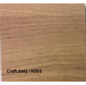 JarStol Šatníková skriňa Antica 146 Farba: craft zlatý